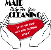 maid only for you cleaning - first clean 25 % off