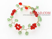 Christmas Stylish Crystal Crocheted Bracelet