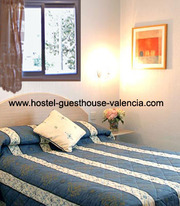 guesthouse Valencia 12.50E private rooms day,  week,  month. Spain