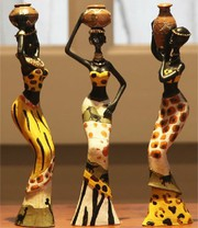 African hand made crafts and jewelry