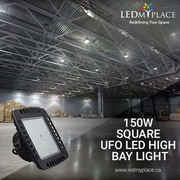 Trust 150W High Bay UFO LED Light for Providing Maximum Brightness